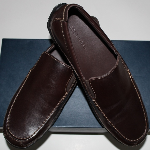 4f3421b9790  150 COLE HAAN TUCKER VENETIAN FRENCH ROAST LOAFER